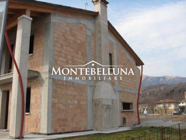 Villa bifamiliare, nuova, 220 mq, Montebelluna
